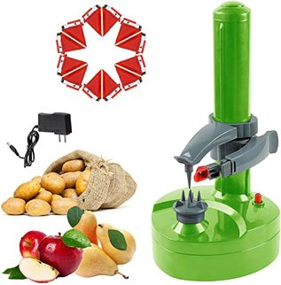 Best Battery Operated Potato Peeler by Asionper