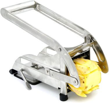 Best French Fry Cutter by ICO Stainless Steel 2-blade